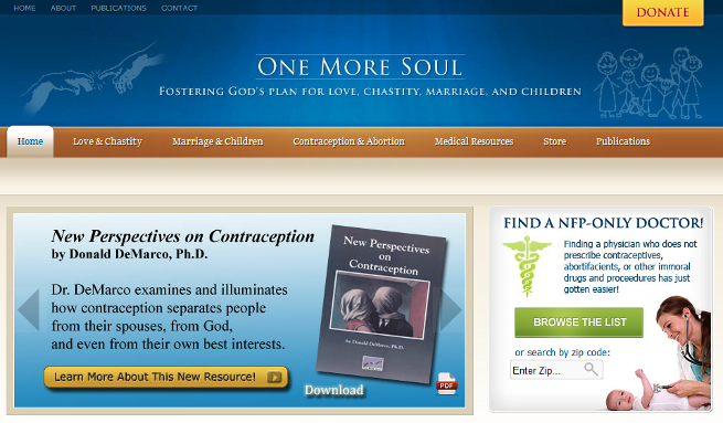One More Soul Website