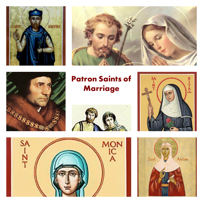 Patron saint of troubled marriages